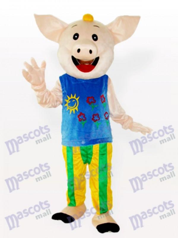 Mr.CoCo Costume de mascotte adulte animal de porc