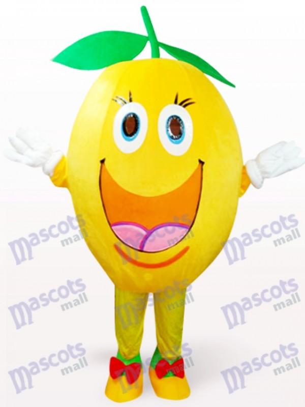 Costume de mascotte en peluche orange