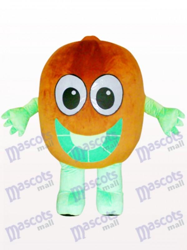 Costume de mascotte adulte chinois kiwi groseille à maquereau