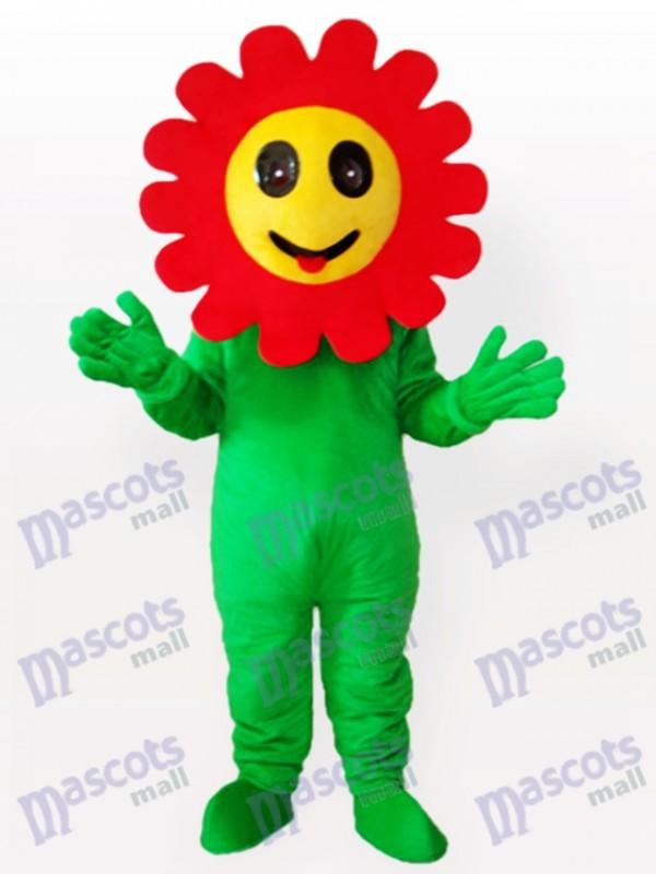 Fou rire Fleur du soleil Costume drôle de mascotte adulte plante