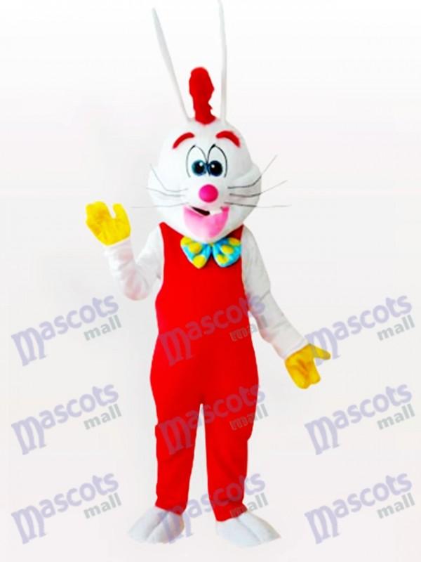 Pâques Le nouveau costume de mascotte adulte de lapin de Rogge