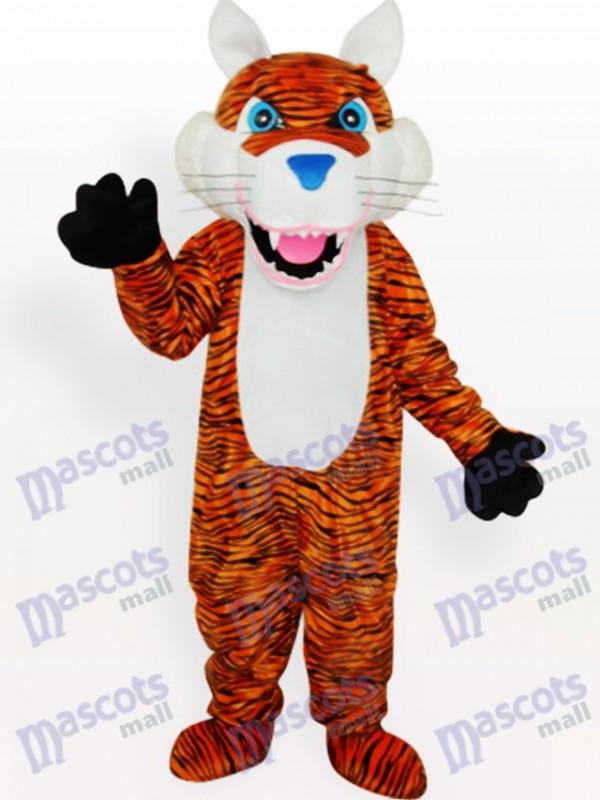 Costume de mascotte adulte animal tigre