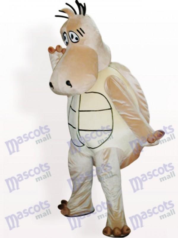 Costume de mascotte adulte animal tortue marron