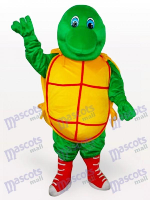 Costume de mascotte adulte vert tortue animaux